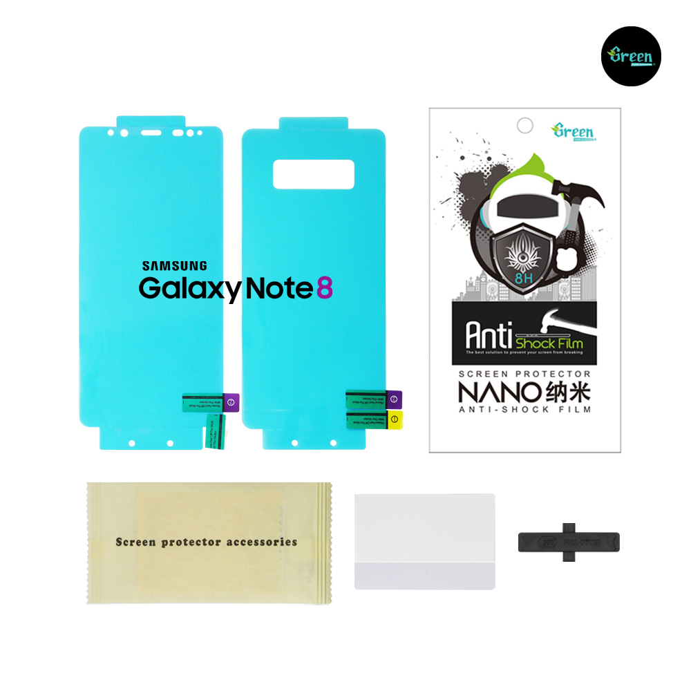 Samsung Galaxy Note 8 N950F | Nano Clear Full Cover Anti-Shock TPU Film Screen Protector