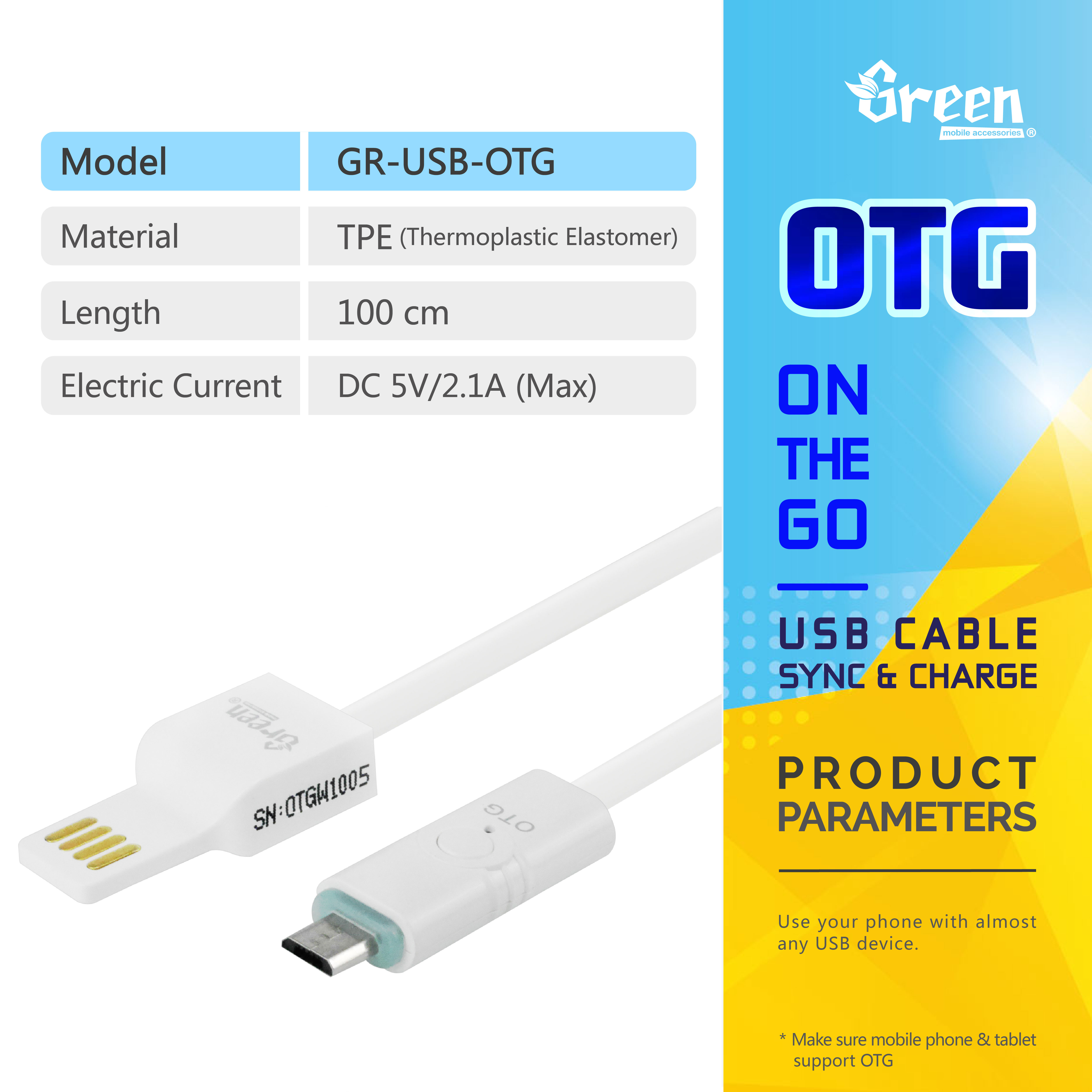 Flat Cord Micro Usb 20 Otg Cable Wiring Rapid Charge Sync Data Gr