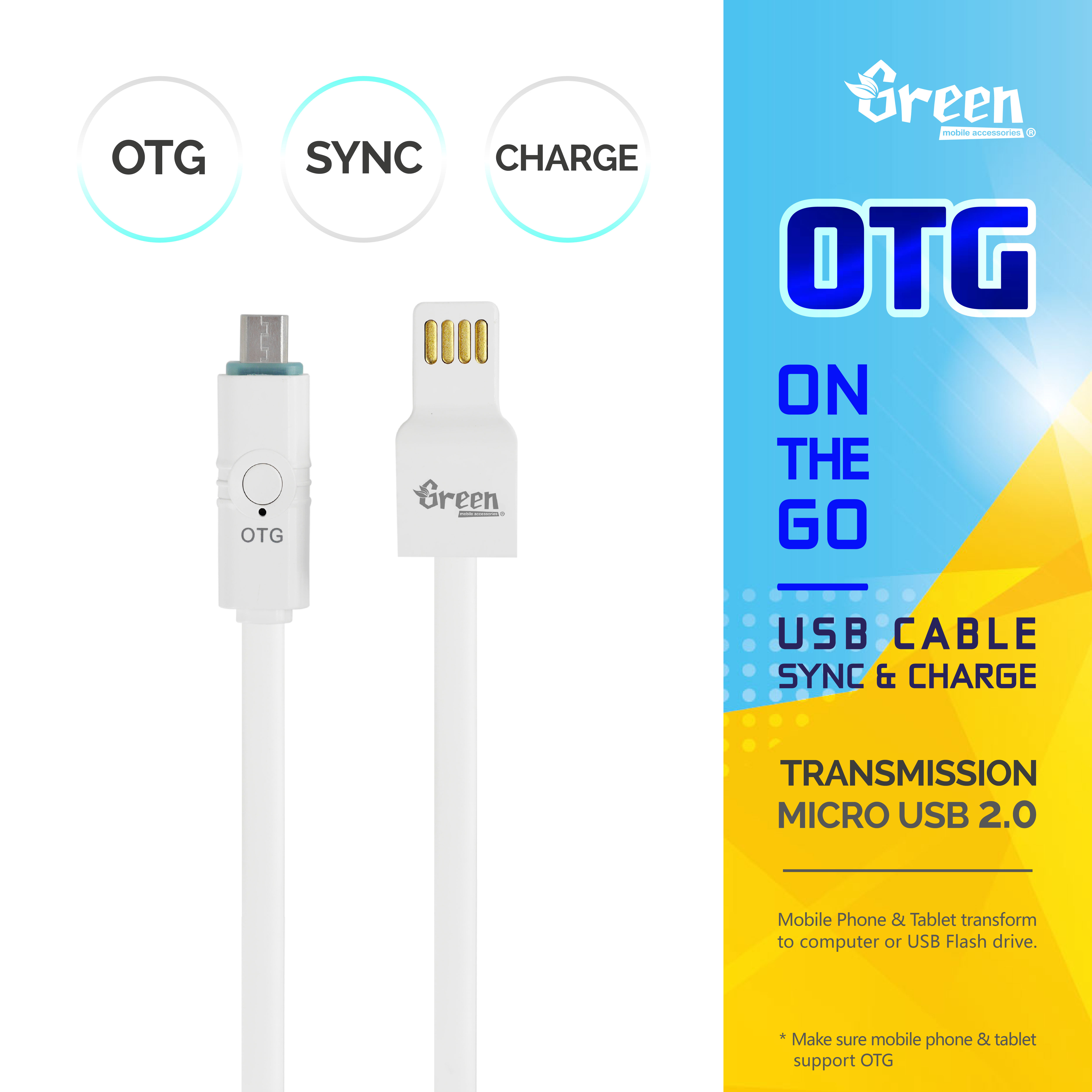 Flat Cord Micro Usb 20 Otg Cable 0 Rapid Charge Sync Data Gr