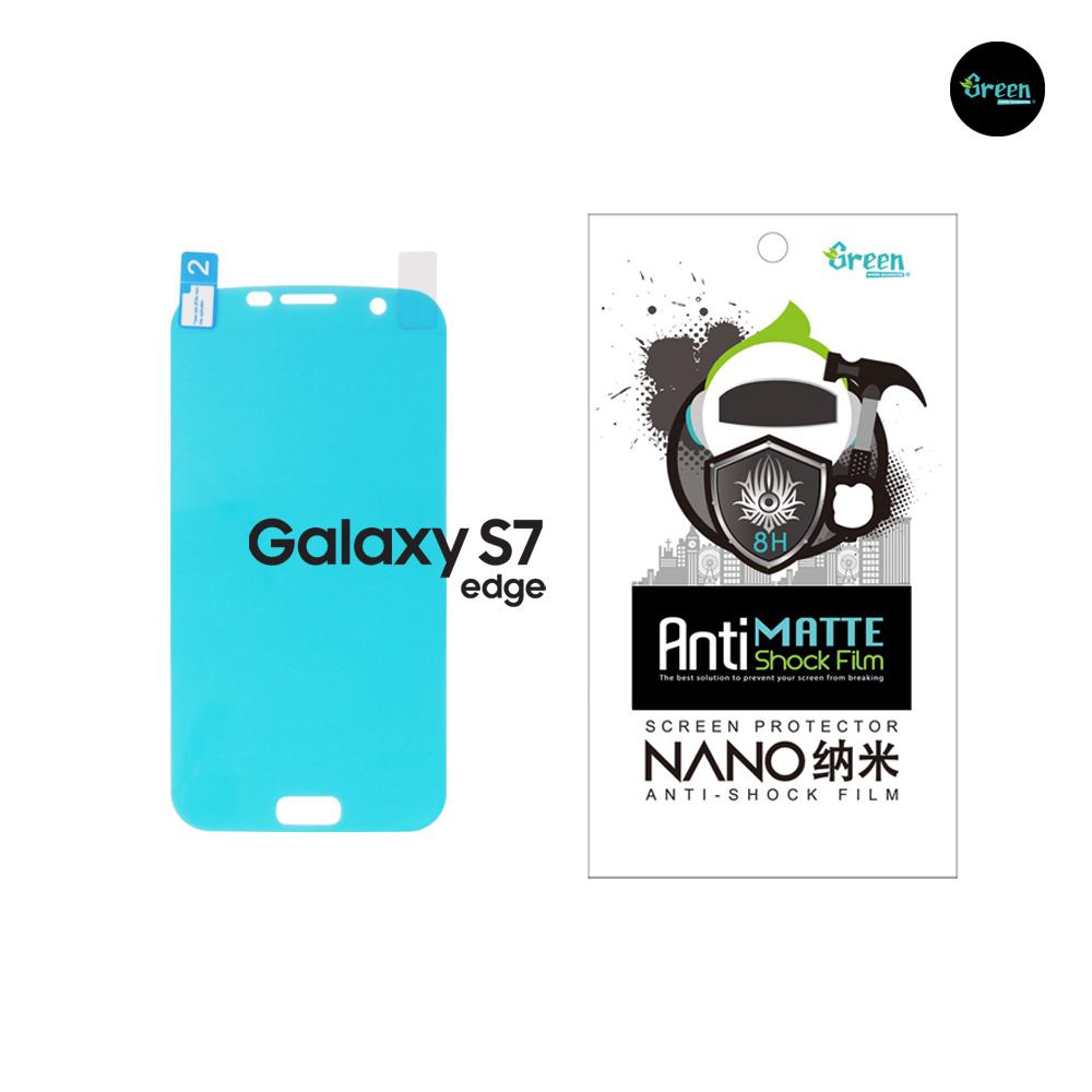 Samsung Galaxy S7 Edge G935F   Nano Matte Full Cover Anti-Shock TPU Film Screen Protector